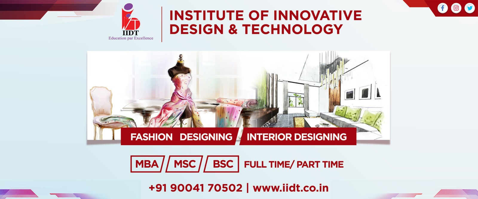 Interior And Fashion Design Institute In Kharghar Navi Mumbai